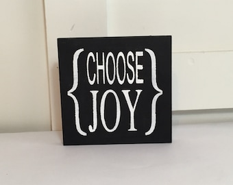 Choose Joy Sign (little)