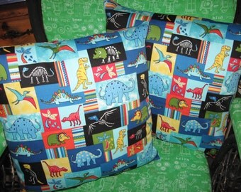 Dinosaur Pillow Set