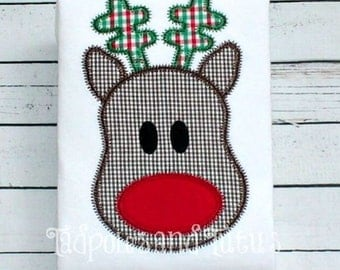 Fun Reindeer Applique
