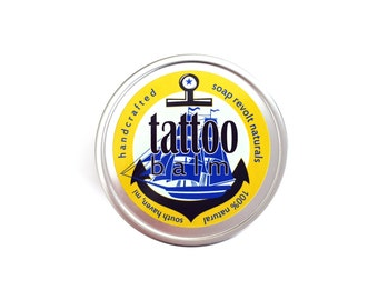 Tattoo Balm.  All Natural Tattoo aftercare. tat balm