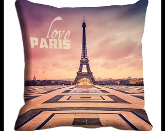 PAIR or MIX MATCH from listing - Paris digital print cushion cover