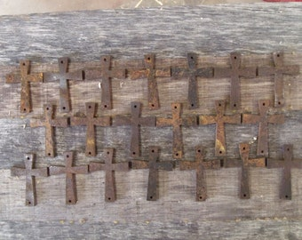 Metal cross cut outs, free shipping