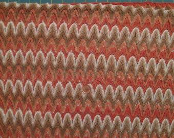 Fashion lace - Multi color ( orangeish)     / 1 yard