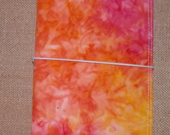 Pink Pink Persuasion   Fabric Monadori Travelers Notebook