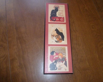 Vintage Cat Hanging