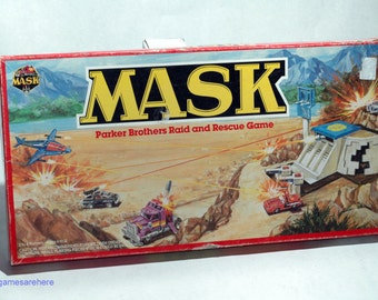 Mask Raid and Rescue Game from Parker Brothers 1985 COMPLETE (read description)