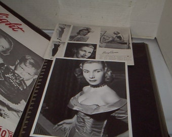 1950's Scrapebook of a Dancer,Tillie Ditierle