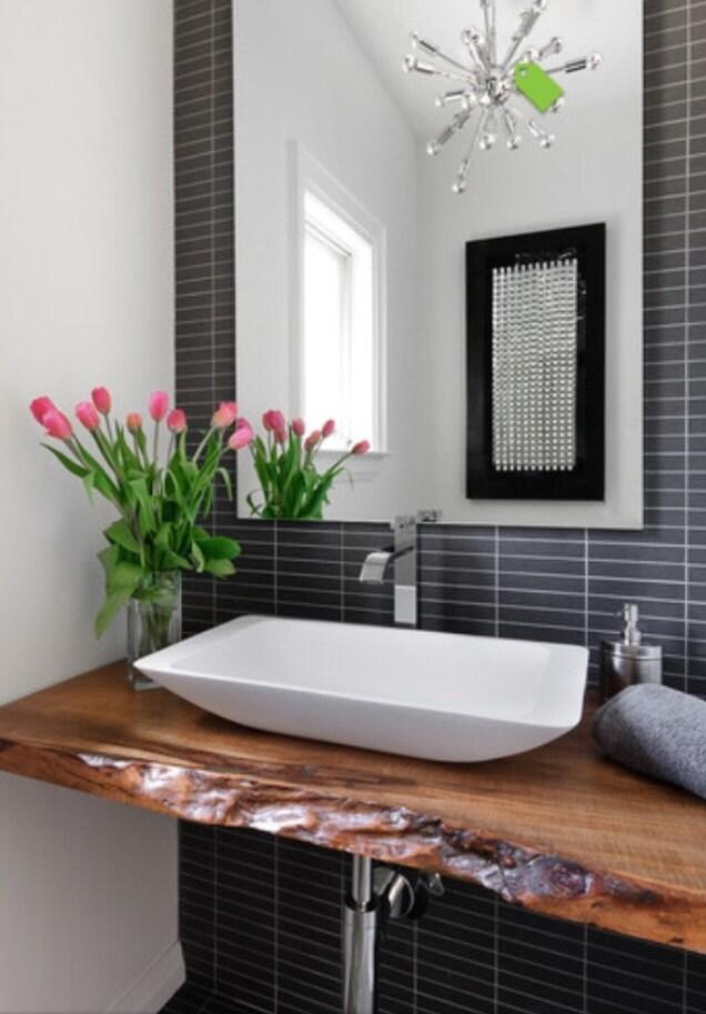 collingwood live edge vanity bathroom counter by treegreenteam. Black Bedroom Furniture Sets. Home Design Ideas