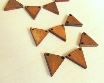 Laser Cut  Wood Triangles, Walnutb Wood Triangles Tile for Jewelry,
