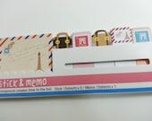 Crazy Sale Stick and Memo (I Love Paris)  - 90 sheets
