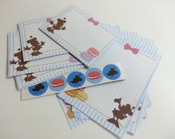 Minnie Mouse Mini Letter Paper Set -10 Sheets + 5 Envelopes + 5 Stickers