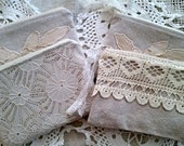 Zipper Bag/Pouch, Vintage Inspired Cosmetic Zippered Bags/Clutches