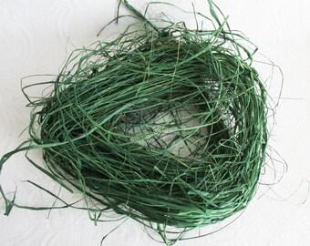 Green Raffia, Medium Bundle