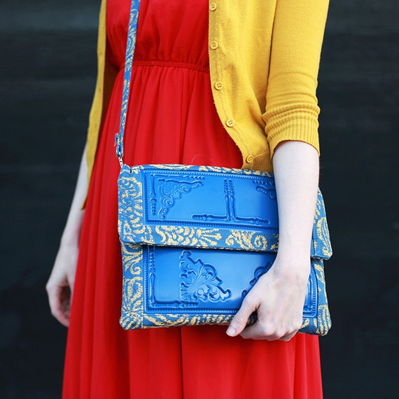 High-end vegan handbags: MeDusa Oversized Purse, Tablet Bag