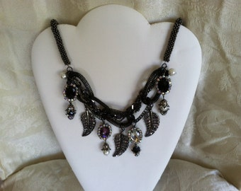 A Gorgeous Handmade One Of A Kind Necklace.