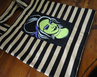 Pin Up Frankenstein's Monster Tote Bag