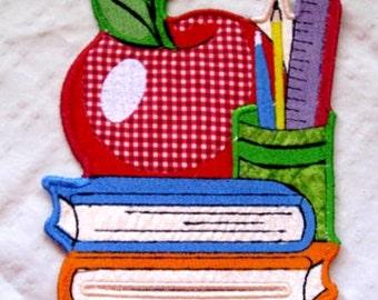 September Magnetic Embroidered Notepad Holder