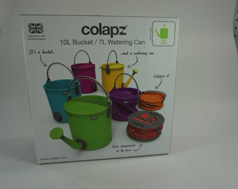 Colapz Watering Can, 7L = 1.85 Gallon Watering Can, Collapsible Watering Can, Easy Storage gardening tools Green Watering Can, Free Ship