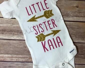 Little Sister Custom Onsie