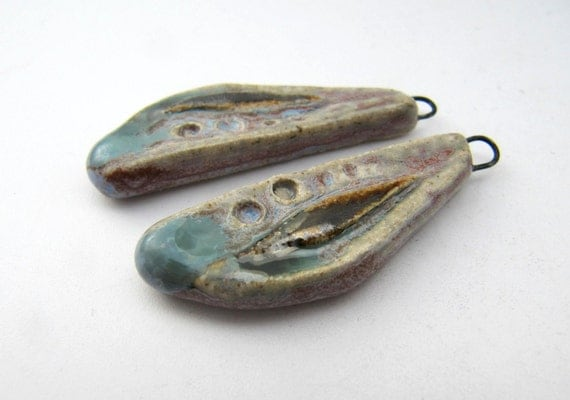 Watercolour Wing Charms