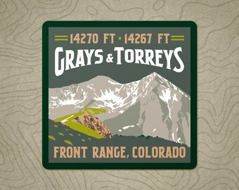 Grays & Torreys Decal Sticker