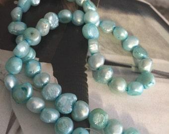 AQUA Pearl, cultured freshwater, wedding supplies, pearls supplies, Ivory pearls, white pearls (5545CX)