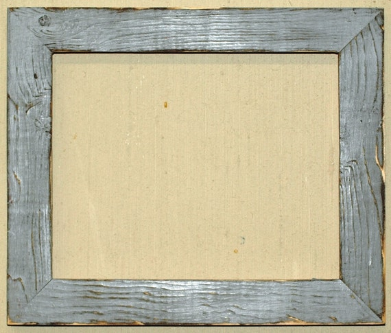1 1 2 gray distressed picture frame. Black Bedroom Furniture Sets. Home Design Ideas