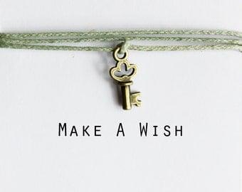Make A Wish Key Bracelet