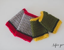 Crochet Pattern Thor and Loki inspired gloves. Instant digital download. CP404TLG