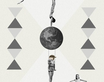 The great world circus | Collage
