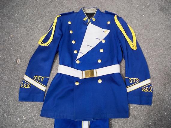Vintage 1980's Craddock Uniforms Marching Band Uniform