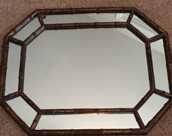 Octagon Mirror Etsy