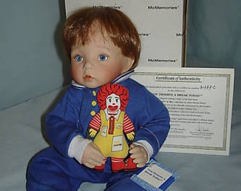"""Vintage McDonald's Doll-Toddler """"You Deserve A Break Today"""" by Yolanda Bello-Exc Holiday, Birthday, Anniversay Gift for Doll Collectors"""