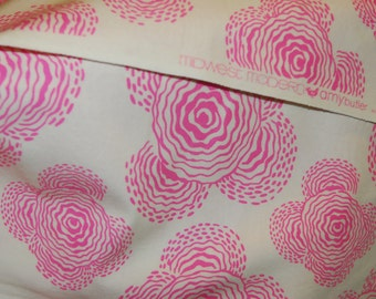 Amy Butler Fabric - Midwest Modern - Rosy, soft pink -100% High Quality Cotton Rare - Great Price