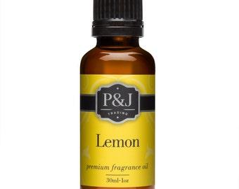 Lemon Fragrance Oil - Premium Grade Scented Oil - 30ml