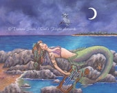 I Must be a Mermaid Art P...