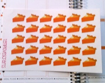 Pie stickers for Planners