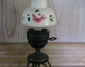 Vintage metal framed Lamp