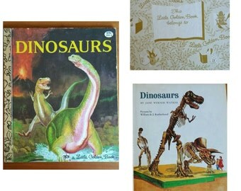 Dinosaurs, A little golden book.