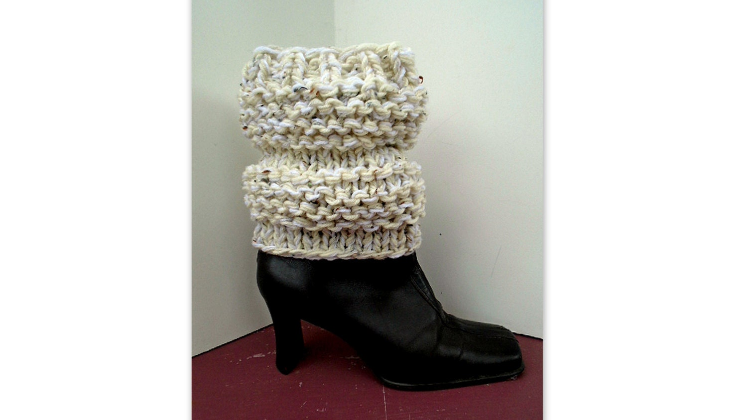 Chunky Style Boot Cuffs Knitting Pattern 830 Women 39 S Winter Accessories Boot Savers From