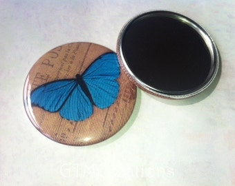 Butterfly Pocket Mirrors - Party Favor - Gifts - Shower Favors - Butterflies