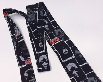 Zombie Walking Dead Necktie