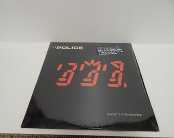The police ghost in the machine vinyl record lp 1981 usa still in shrink