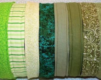 Green No Slip Headbands