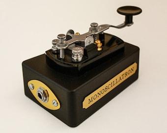 Monoscillatron - Hand-held Mono Oscillating Synth -  Electronic Instrument Steampunk
