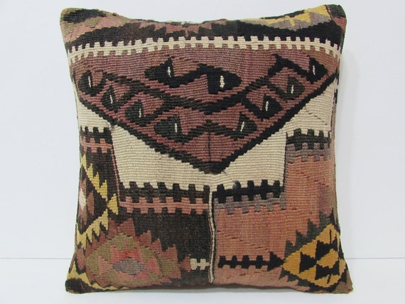 Western Throw Pillows For Couch : western pillow case 18x18 sofa pillow sham kilim pouf pillow bedroom interior design novelty ...