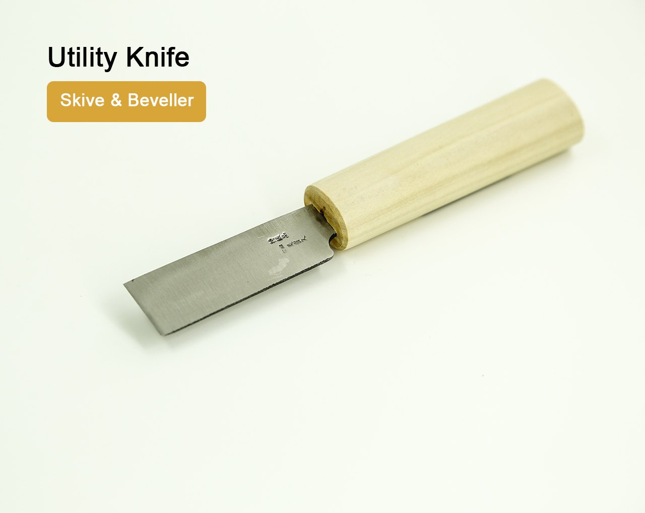 Utility Knife 24mm Skive Amp Beveller Leather Leathermob Kyoshin