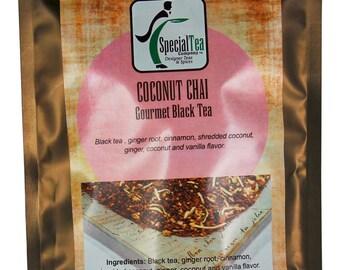 Coconut Chai Black Tea Blend, 20 Tea Bags