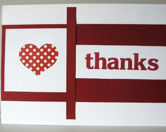 Thank you greeting card - Item No 229