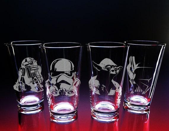Darth Vader Drinking Glasses